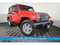 2014 Flame Red Jeep Wrangler Sport 4x4 #126305230