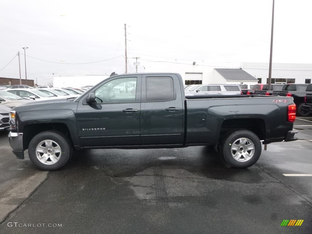 2018 Silverado 1500 LT Double Cab 4x4 - Graphite Metallic / Jet Black photo #2