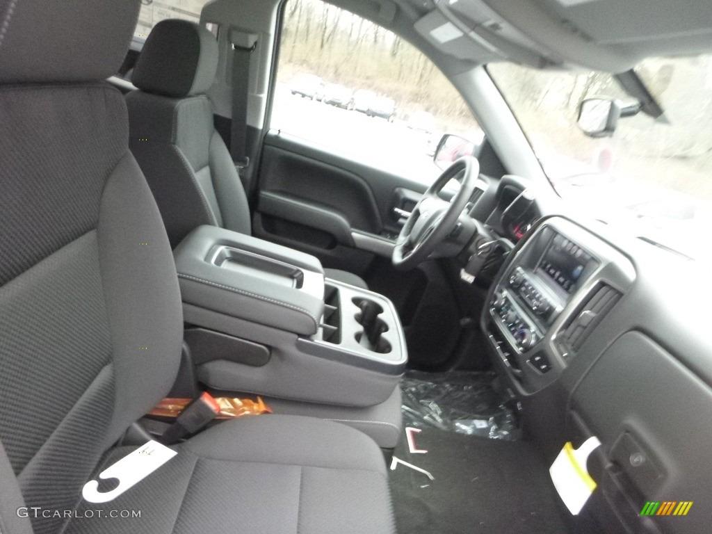 2018 Silverado 1500 LT Double Cab 4x4 - Graphite Metallic / Jet Black photo #10