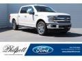 White Platinum 2018 Ford F150 Lariat SuperCrew