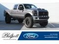 2011 Sterling Grey Metallic Ford F250 Super Duty Lariat Crew Cab 4x4 #126382238