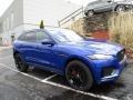 Caesium Blue Metallic 2018 Jaguar F-PACE S AWD