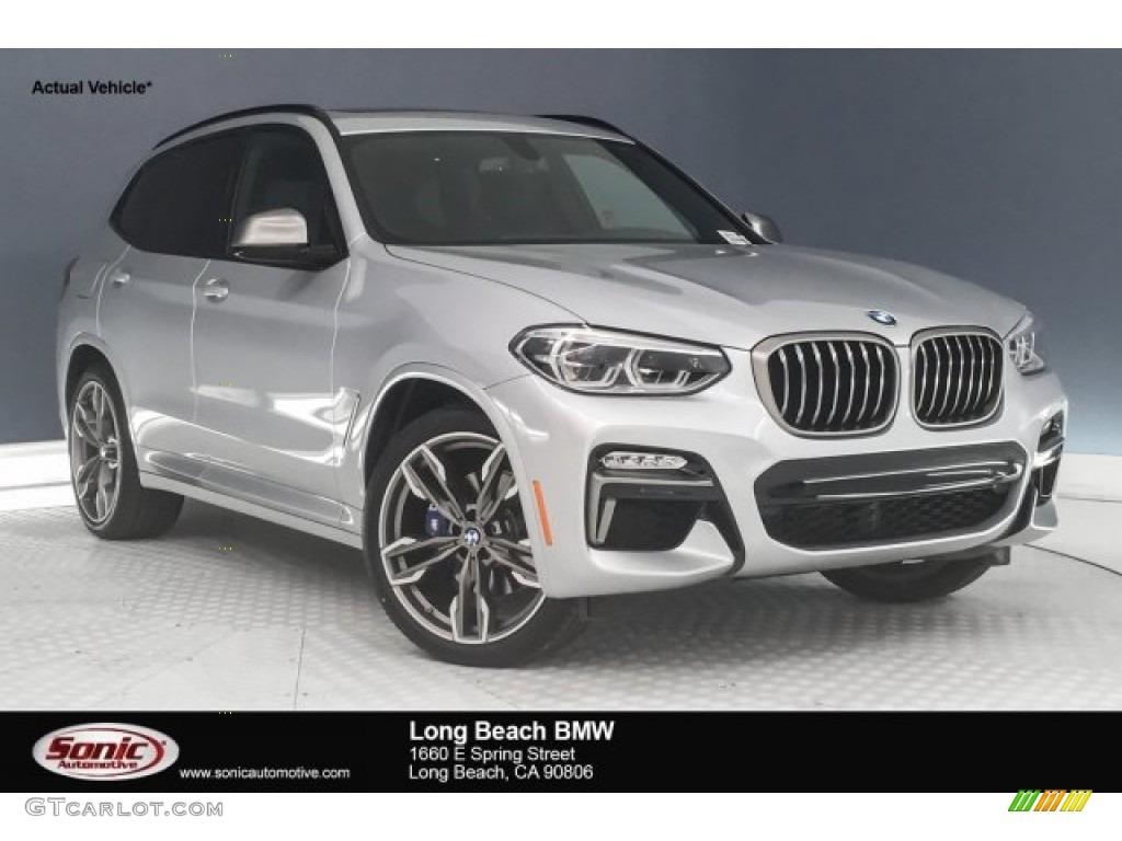 2018 Glacier Silver Metallic BMW X3 M40i 126407500