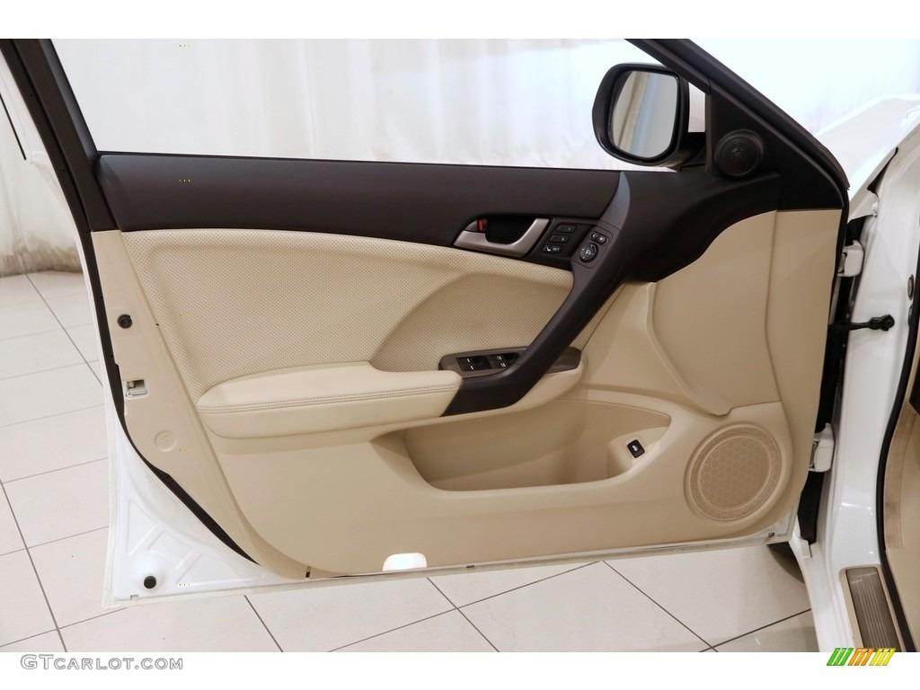 2010 TSX Sedan - Premium White Pearl / Parchment photo #4