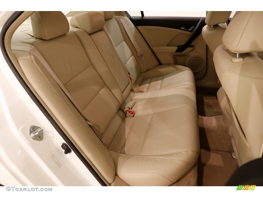 2010 TSX Sedan - Premium White Pearl / Parchment photo #19