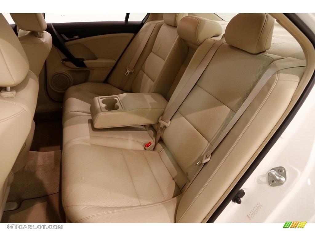 2010 TSX Sedan - Premium White Pearl / Parchment photo #21