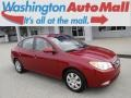 2008 Apple Red Pearl Hyundai Elantra GLS Sedan #126463973