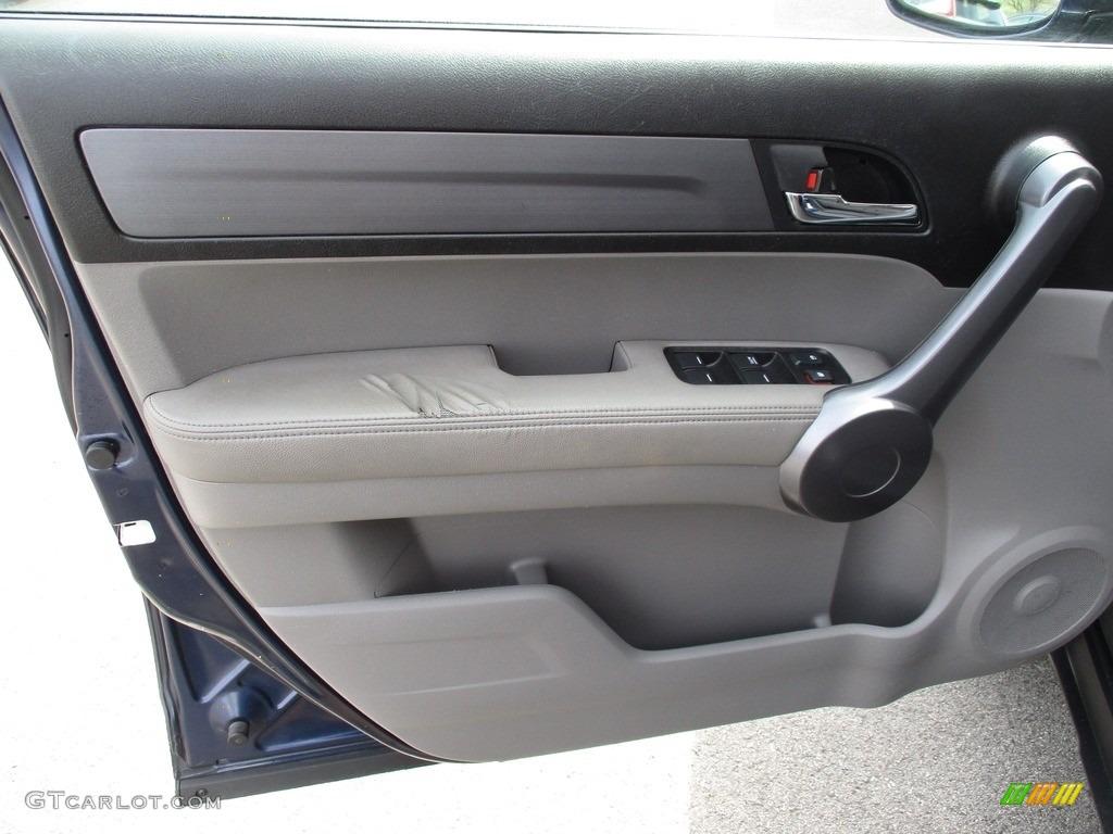 2009 CR-V EX-L 4WD - Royal Blue Pearl / Gray photo #11