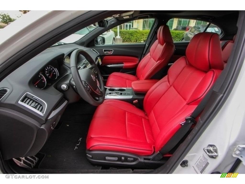 2018 Acura TLX V6 A-Spec Sedan Front Seat Photo #126508496