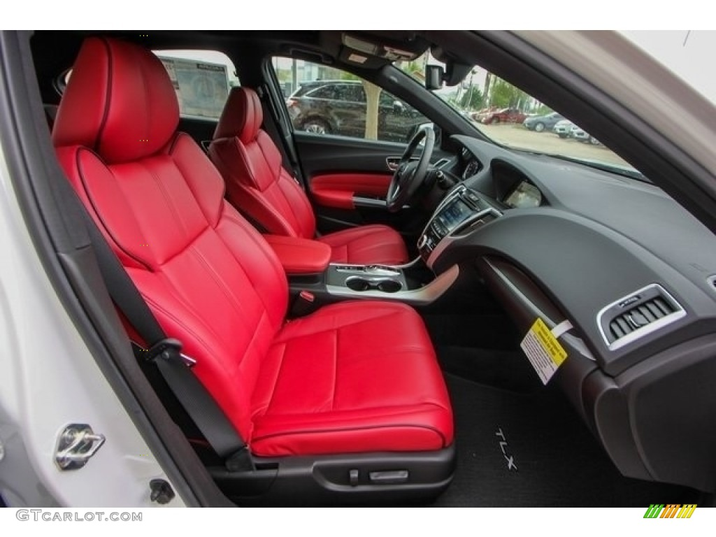 2018 Acura TLX V6 A-Spec Sedan Interior Color Photos