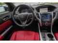Red 2018 Acura TLX V6 A-Spec Sedan Dashboard