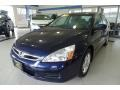 Royal Blue Pearl 2006 Honda Accord SE Sedan