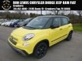 Giallo (Yellow) 2018 Fiat 500L Trekking