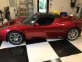 Radiant Red Metallic 2010 Tesla Roadster Sport