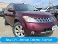 2007 Sunset Red Pearl Metallic Nissan Murano SL AWD #126549535
