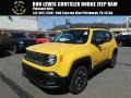 Solar Yellow 2018 Jeep Renegade Sport 4x4