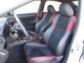 Carbon Black Interior Photo for 2018 Subaru WRX #126595142