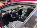 2018 Model 3 Long Range Black Interior
