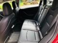 Rear Seat of 2018 Model 3 Long Range