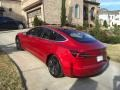 Red Multi-Coat - Model 3 Long Range Photo No. 28
