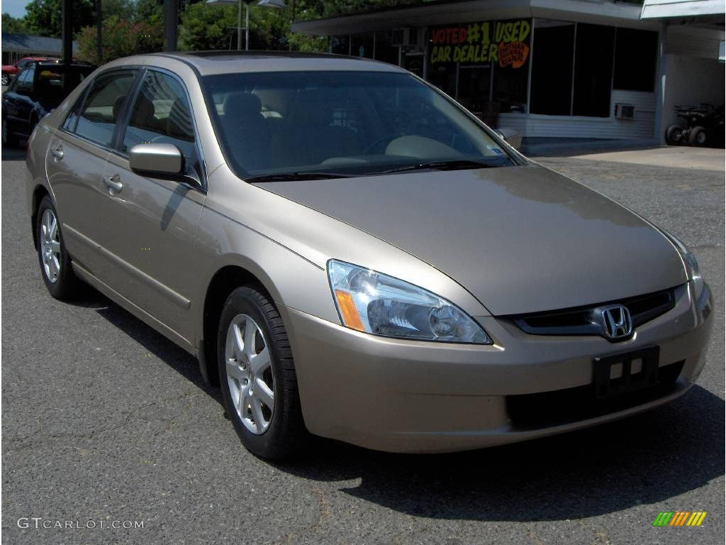 2005 desert mist metallic honda accord ex l v6 sedan 12634994 car color galleries. Black Bedroom Furniture Sets. Home Design Ideas