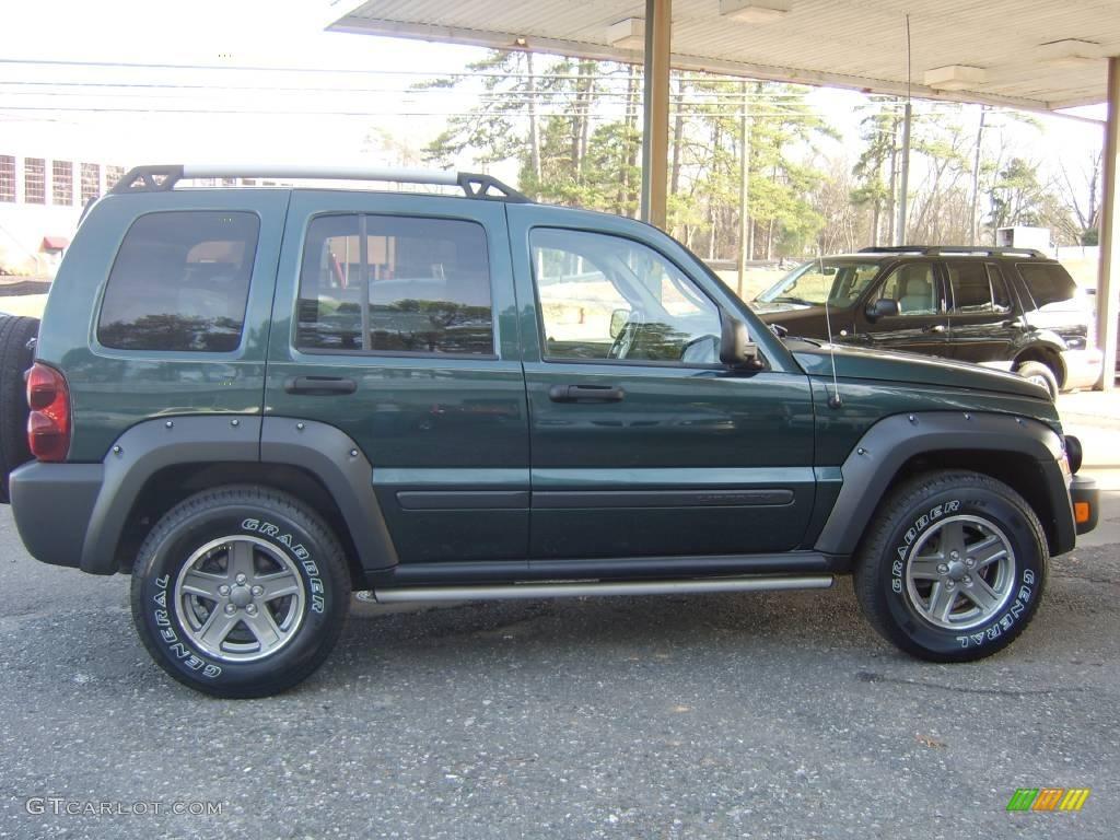 2006 deep beryl green pearl jeep liberty renegade 4x4 12635006 photo 3 car. Black Bedroom Furniture Sets. Home Design Ideas