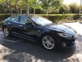 Blue Metallic 2014 Tesla Model S