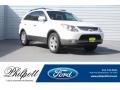 Stone White 2011 Hyundai Veracruz Limited