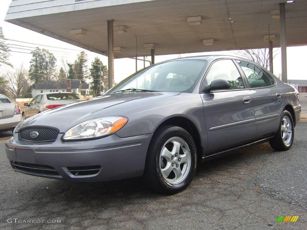 Tungsten grey metallic ford taurus