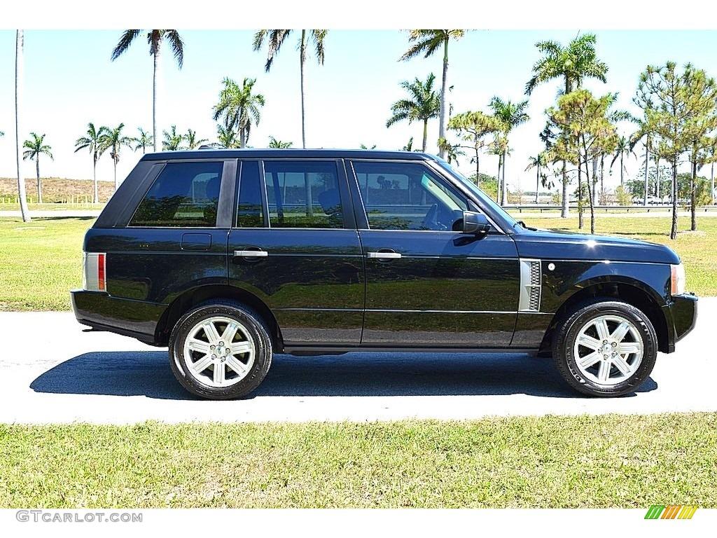 2006 Range Rover HSE - Java Black Pearl / Sand/Jet photo #3
