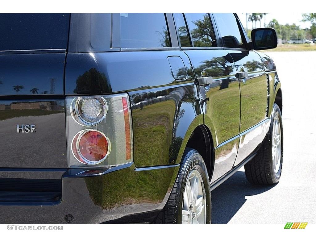2006 Range Rover HSE - Java Black Pearl / Sand/Jet photo #5
