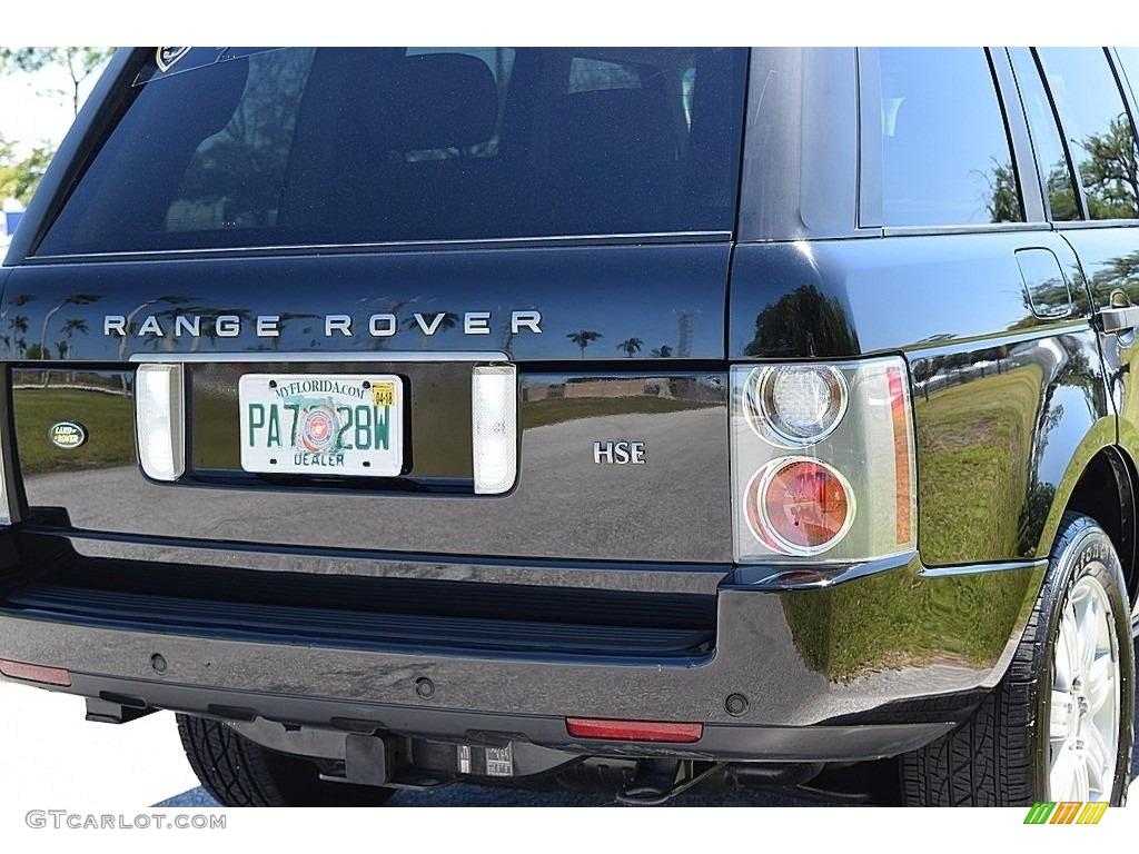 2006 Range Rover HSE - Java Black Pearl / Sand/Jet photo #6