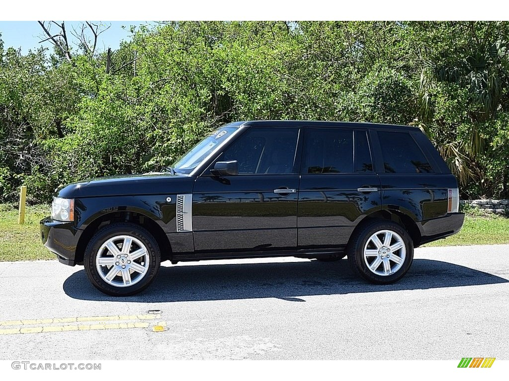 2006 Range Rover HSE - Java Black Pearl / Sand/Jet photo #10