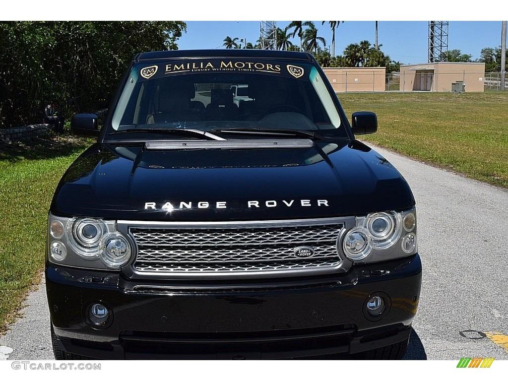 2006 Range Rover HSE - Java Black Pearl / Sand/Jet photo #13
