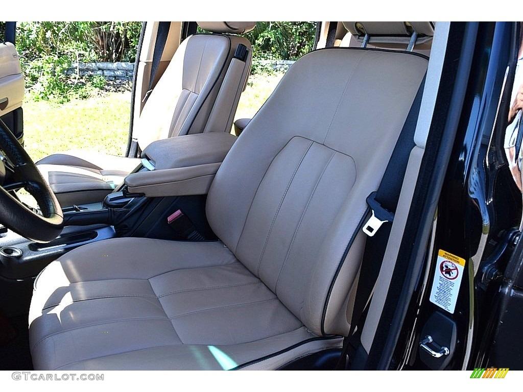 2006 Range Rover HSE - Java Black Pearl / Sand/Jet photo #28
