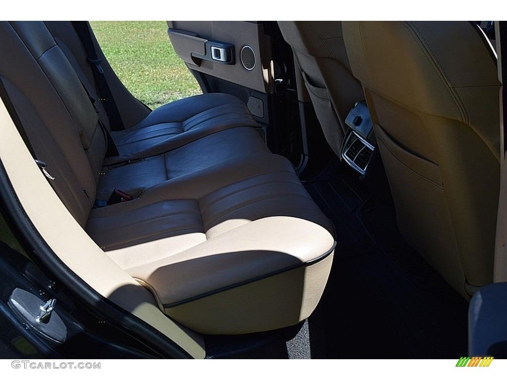 2006 Range Rover HSE - Java Black Pearl / Sand/Jet photo #37