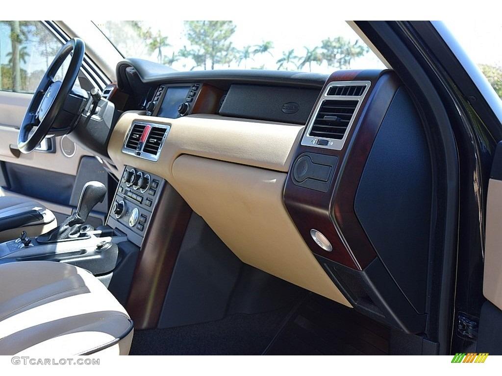 2006 Range Rover HSE - Java Black Pearl / Sand/Jet photo #43