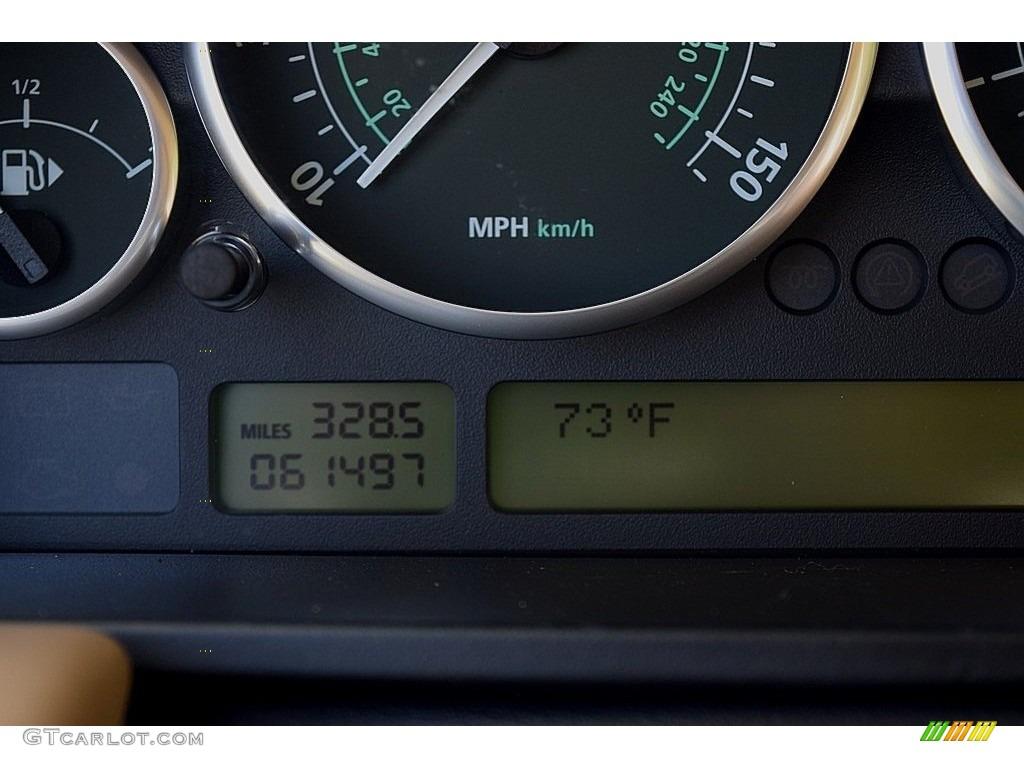 2006 Range Rover HSE - Java Black Pearl / Sand/Jet photo #60