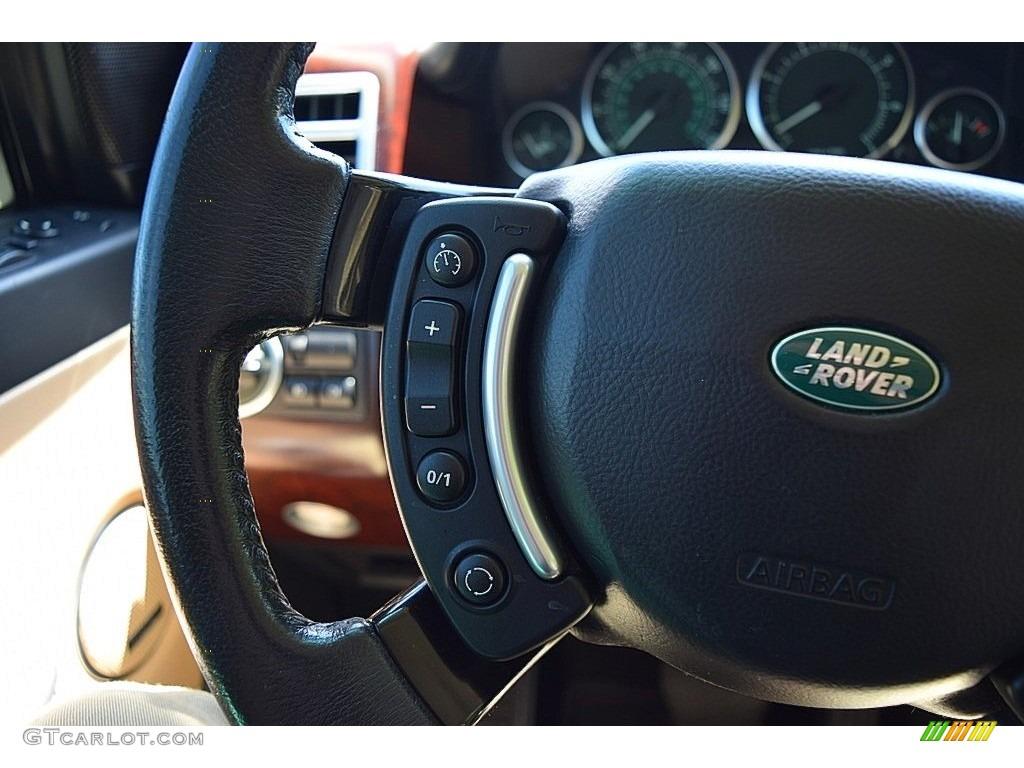 2006 Range Rover HSE - Java Black Pearl / Sand/Jet photo #63