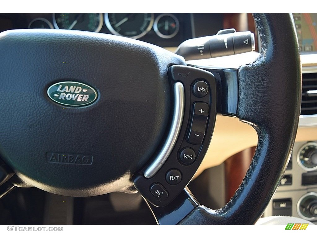 2006 Range Rover HSE - Java Black Pearl / Sand/Jet photo #64