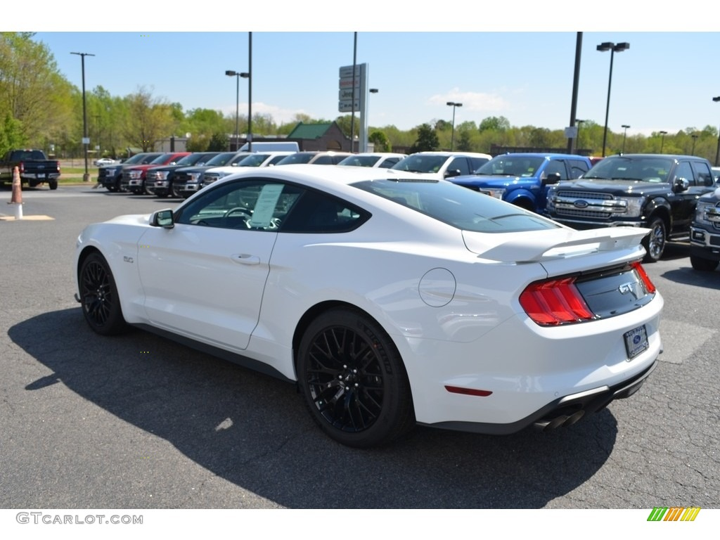 2018 Mustang Gt Premium Fastback Oxford White Ebony Photo 18
