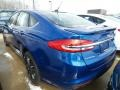 2018 Lightning Blue Ford Fusion SE  photo #3