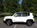 2018 Alpine White Jeep Renegade Limited 4x4  photo #1