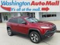 Deep Cherry Red Crystal Pearl - Cherokee Trailhawk 4x4 Photo No. 1