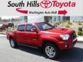 Barcelona Red Metallic 2012 Toyota Tacoma V6 TRD Sport Double Cab 4x4