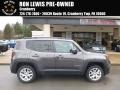 Granite Crystal Metallic 2016 Jeep Renegade Latitude 4x4