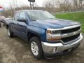 Front 3/4 View of 2018 Silverado 1500 LT Double Cab 4x4