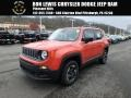 2018 Omaha Orange Jeep Renegade Sport 4x4  photo #1