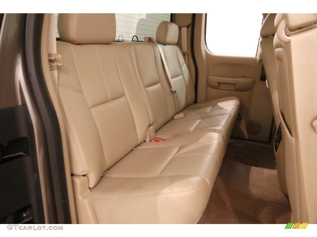 2012 Silverado 1500 LTZ Extended Cab 4x4 - Mocha Steel Metallic / Ebony photo #13