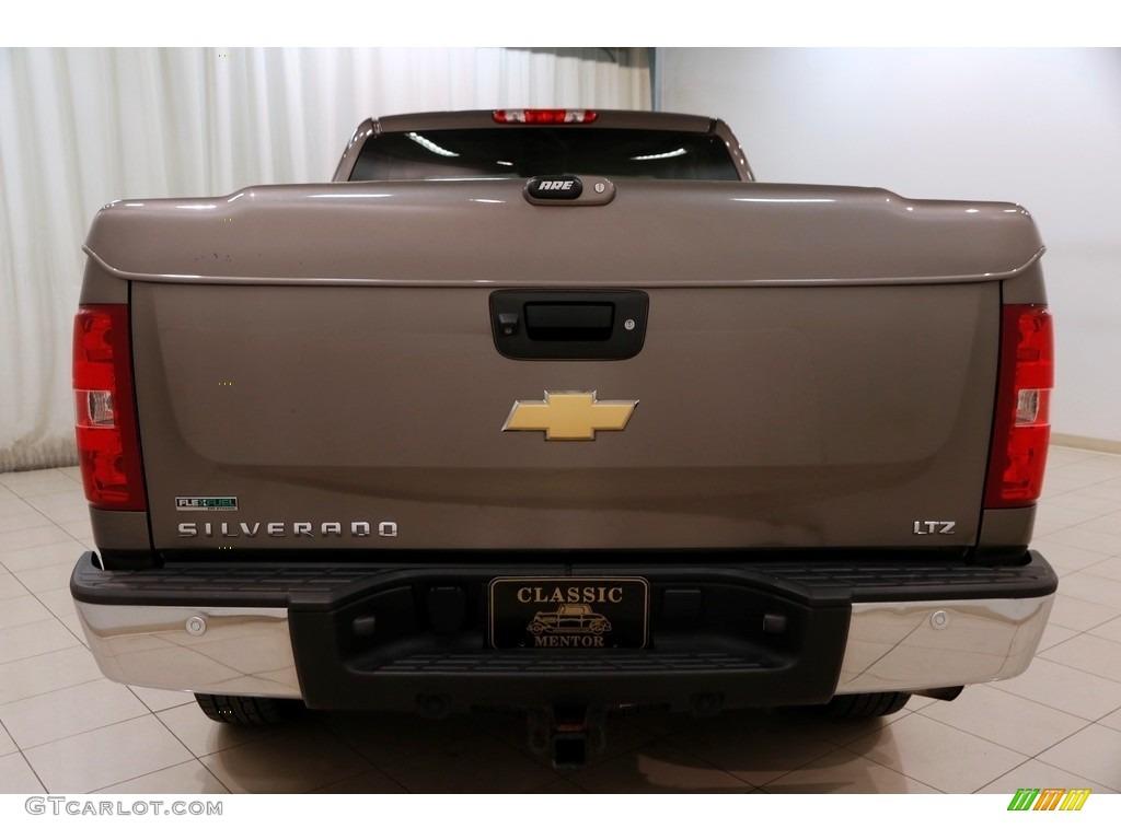 2012 Silverado 1500 LTZ Extended Cab 4x4 - Mocha Steel Metallic / Ebony photo #15